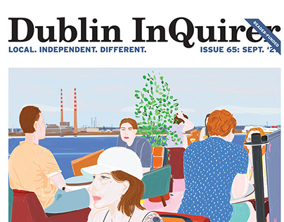 Cover for Dublin InQuirer. Issue no 65 September 2021