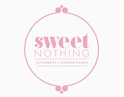 Sweet Nothing logo design