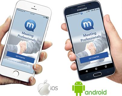 Meeting Professional - UX/UI design (Android & iOS)