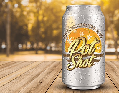 Pot Shot: Logo Design