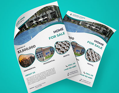 Creative Real Estate Flyer Design