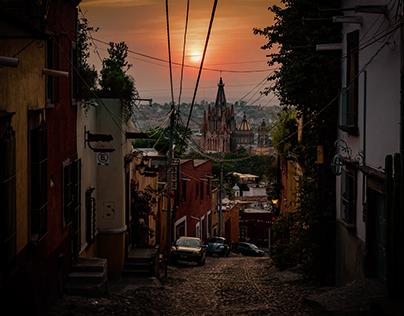 Time Lapse Sunrise in San Miguel de Allende