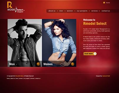 RMODEl SELECT LOGO & Website