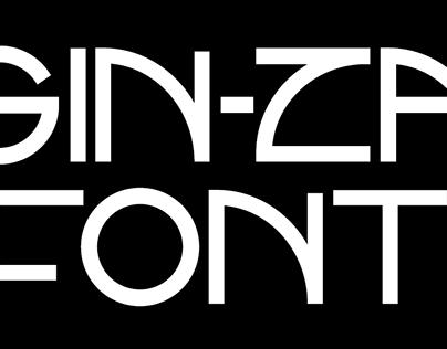 Gin-Za Font