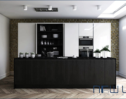 Lucente & Solid Oak S-Line Kitchen Collection
