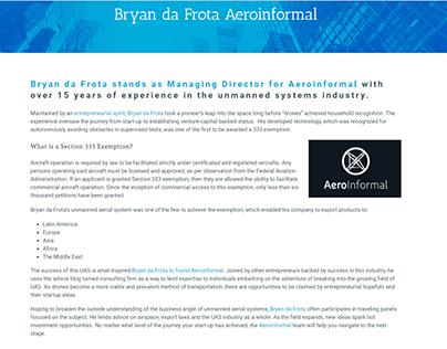 AeroInformal - Bryan da Frota