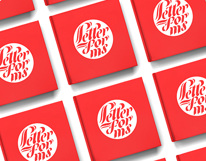 The album of calligraphy & lettering 'Letterforms'