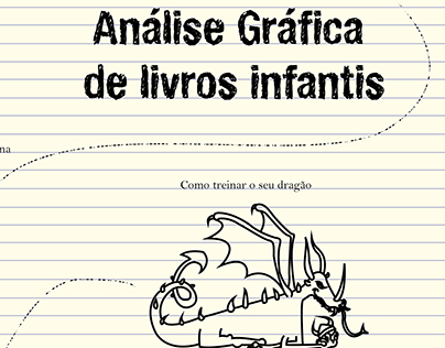 Capa Análise de Livros infantis