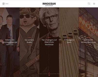 INNOCEAN Worldwide Website 2015