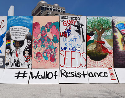 #WallofResistance- Installation