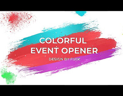 Colorful Event Opener