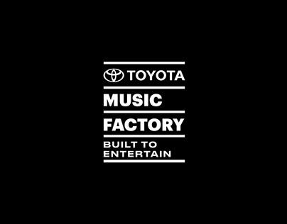 Toyota Music Factory | Branding