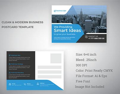 Postcard Design For Business promotion