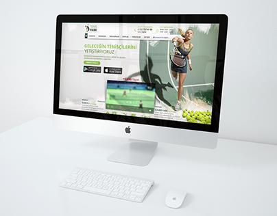 Tenis Park Web Design