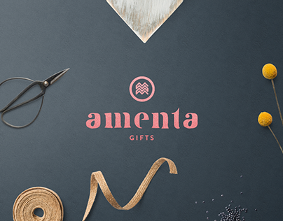 Amenta logo redesign