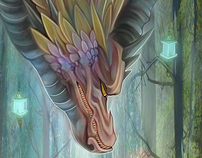Fantasy art (Dragon) Illustrations 2019