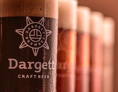 Beer menu design for Dargett Brewpub