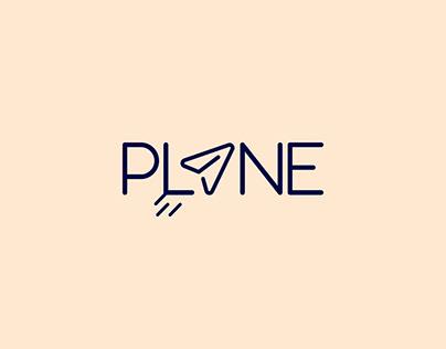 Plane logotype