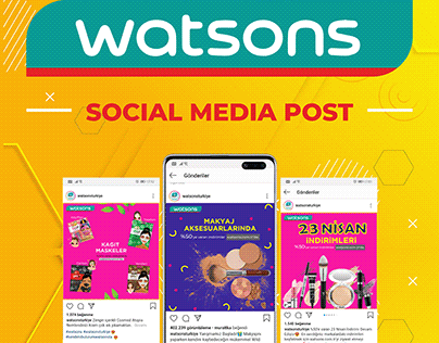Watsons - Social Media Post