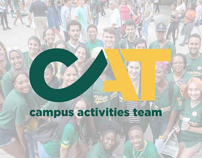 campus activities team logo, Wayne State University.