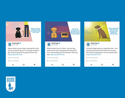 GUIDE DOGS: SOCIAL CONTENT