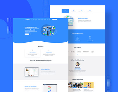 Layup Website Design