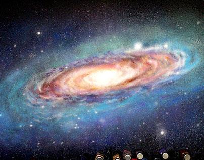 Art With Salt - Galaxy