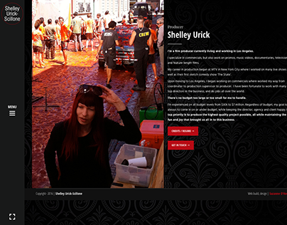 Web design and build for Shelley Urick