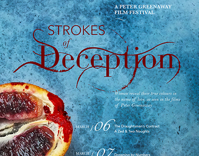 Strokes of Deception: A Peter Greenaway Film Festival