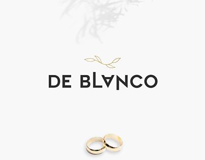 De Blanco - Photography studio - Branding