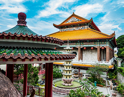 Taiwanese temples