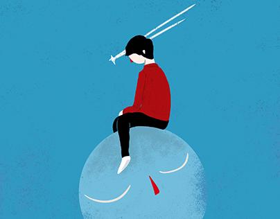 Lua Protegida @ Illustration