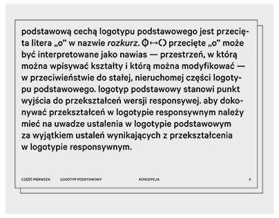 logo and brandbook / rozkurz