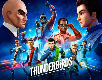 THUNDERBIRDS ARE GO Season 3C Key Art