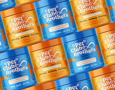 Pet vitamins packaging