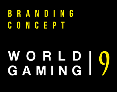 World 9 Gaming - Branding Concept
