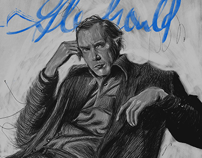 Glenn Gould: Messy scribbles?