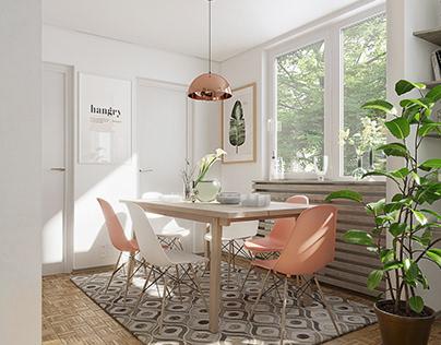 Apartment interior design, Sarajevo, B&H