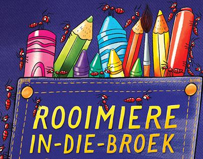 Rooimiere-in-die-broek Idioominkleurboek