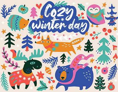 Cozy winter day