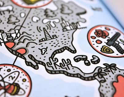 World map infographic – Monocle Magazine