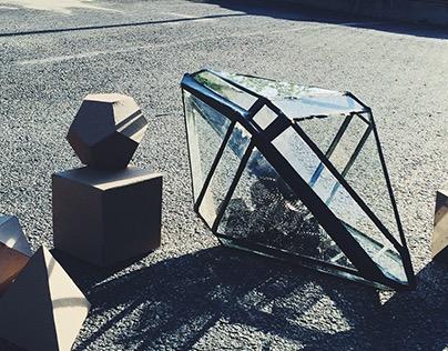 Glass Polyhedron