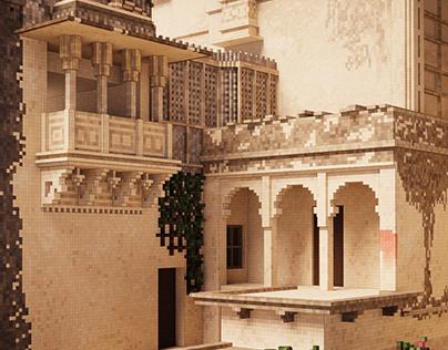 """""""Antique"""" & """"Asian Building"""""""
