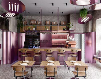 Pastrami Bar - CGI