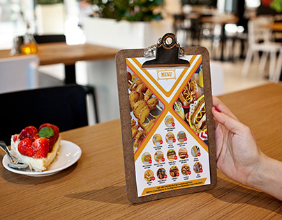 Restaurant Branding-Menu, Banner, Visiting Card etc