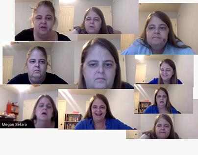 All da faces of my former teacher