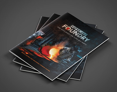 Foundry Brochure Cover and Look & Feel