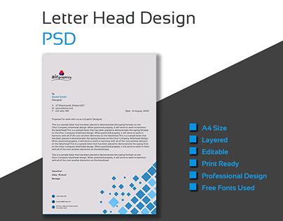 Unique Letter Head Design