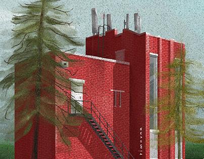 HOUSE ON KRESTOVSKY ISLAND 2020 illustration