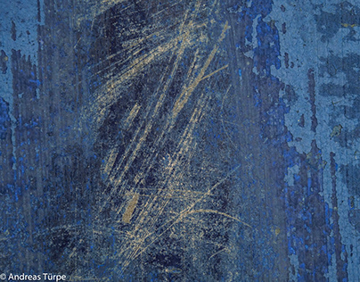 Scratches on boats - blue series